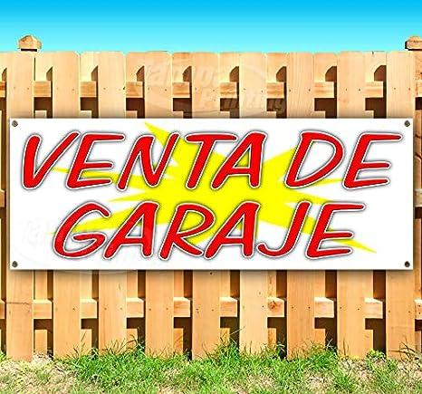 Amazon.com: Venta de Garaje, cartel de vinilo resistente con ...