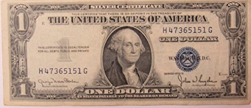 1935 Series D Silver Certificate in Very Good (Silver Certificate Series)