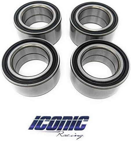 4 XC BOTH Front AND Rear Wheel Carrier Bearings 11-16 Polaris RZR 900 XP S