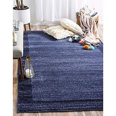 Unique Loom Del Mar Collection Contemporary Transitional Rug