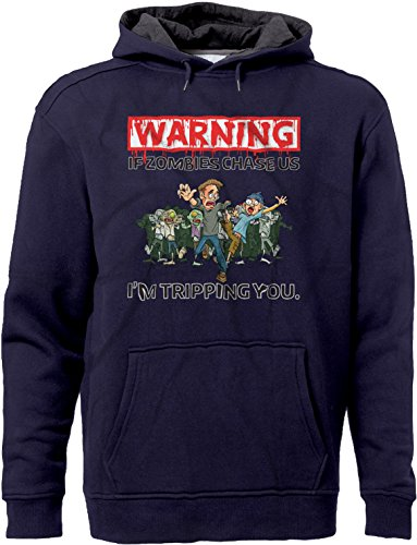 BSW Unisex Warning - If Zombies Chase us