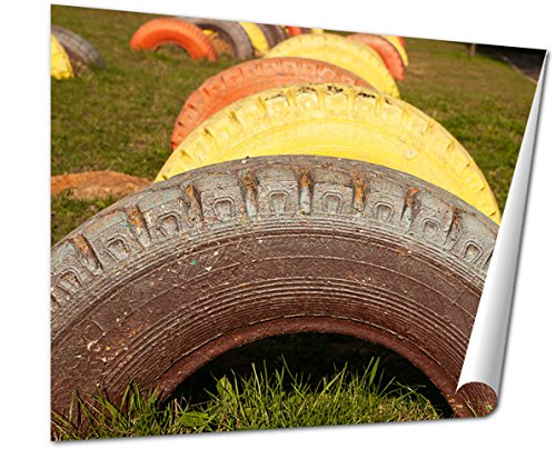 old tires - 2