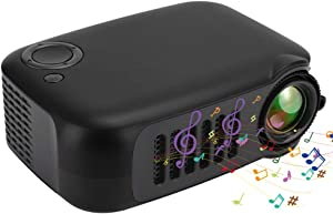 Mini Handheld Projector,Mini Portable Projector Household Projector … (Black)