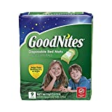 Health & Personal Care : Goodnites Disposable Bed Mats