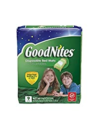 Goodnites Disposable Bed Mats BOBEBE Online Baby Store From New York to Miami and Los Angeles