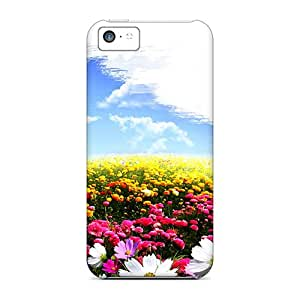 Top Quality Protection Spring Colors Cases Covers For Iphone 5c