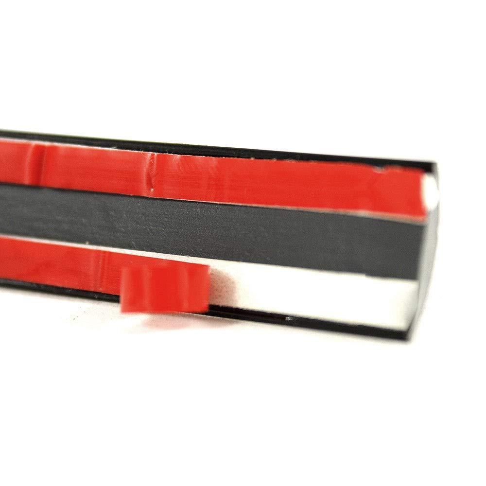 Autohobby 8 mm x 5 m modanatura nera universale flessibile autoadesivo plastica Tuning Styling