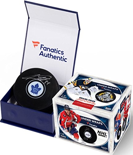 2017/18 Fanatics Under Wraps Autograph NHL Hockey Puck box (2018 All Star Game Tickets)