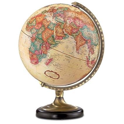 Sierra World Globe - Desk Globe - Antique Finish - Amazon.com: Sierra World Globe - Desk Globe - Antique Finish: Office