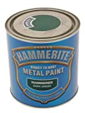 ICI Hammerite 5084834 Hammered Paint - Dark Green