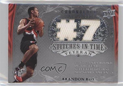(Brandon Roy #99/99 (Basketball Card) 2007-08 Upper Deck Chronology - Stitches in Time Memorabilia - Jersey Number #SIT-BR)