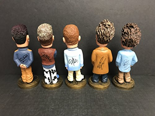 (Nsync SUPER COLLECTOR Prototype AUTOGRAPHED Bobblehead Set JUSTIN TIMBERLAKE Lance Bass Joey Fatone JC Chavez Chris)