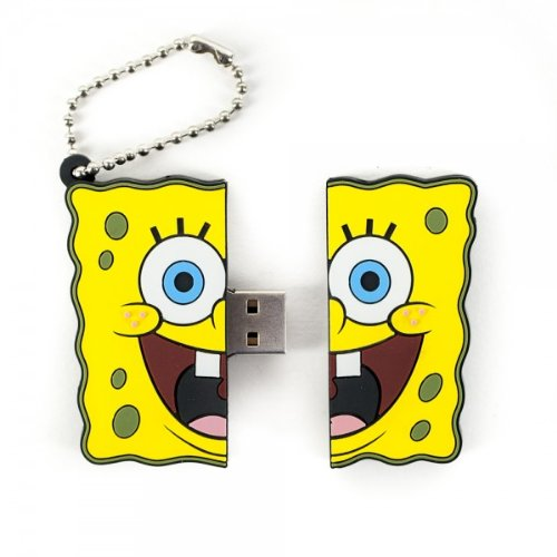 SpongeBob SquarePants 4Gb Usb Flash Drive, Multi-Color