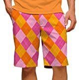 Loudmouth Golf Raspberry Surbet Men's Shorts Size 36