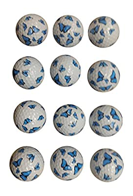 Butterfly Golf Balls (12 Pack)