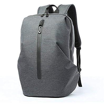 aa34e6b4cb リュック メンズ Hombasis防水スクエアリュック 大容量 パソコン収納 隠しポケット ビジネス 15.6インチ PC
