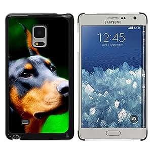 Be Good Phone Accessory // Dura Cáscara cubierta Protectora Caso Carcasa Funda de Protección para Samsung Galaxy Mega 5.8 9150 9152 // Doberman Pinscher Canine Dog Breed