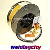 WeldingCity MIG Wire ER70S-6 11-lb 0.035″ Spool & Nozzle-Contact Tip-Diffuser-Liner for Lincoln Magnum 100L Tweco Mini M3W