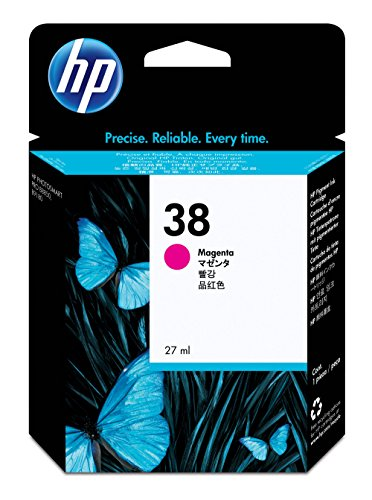 HP 38 Magenta Pigment Original Ink Cartridge (C9416A) DIS...