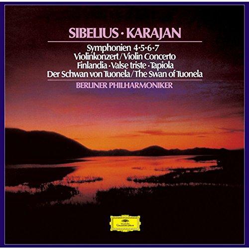 CD : KARAJAN,HERBERT VON - Sibelius: Symphonies / Violin Concerto (Japan - Import)