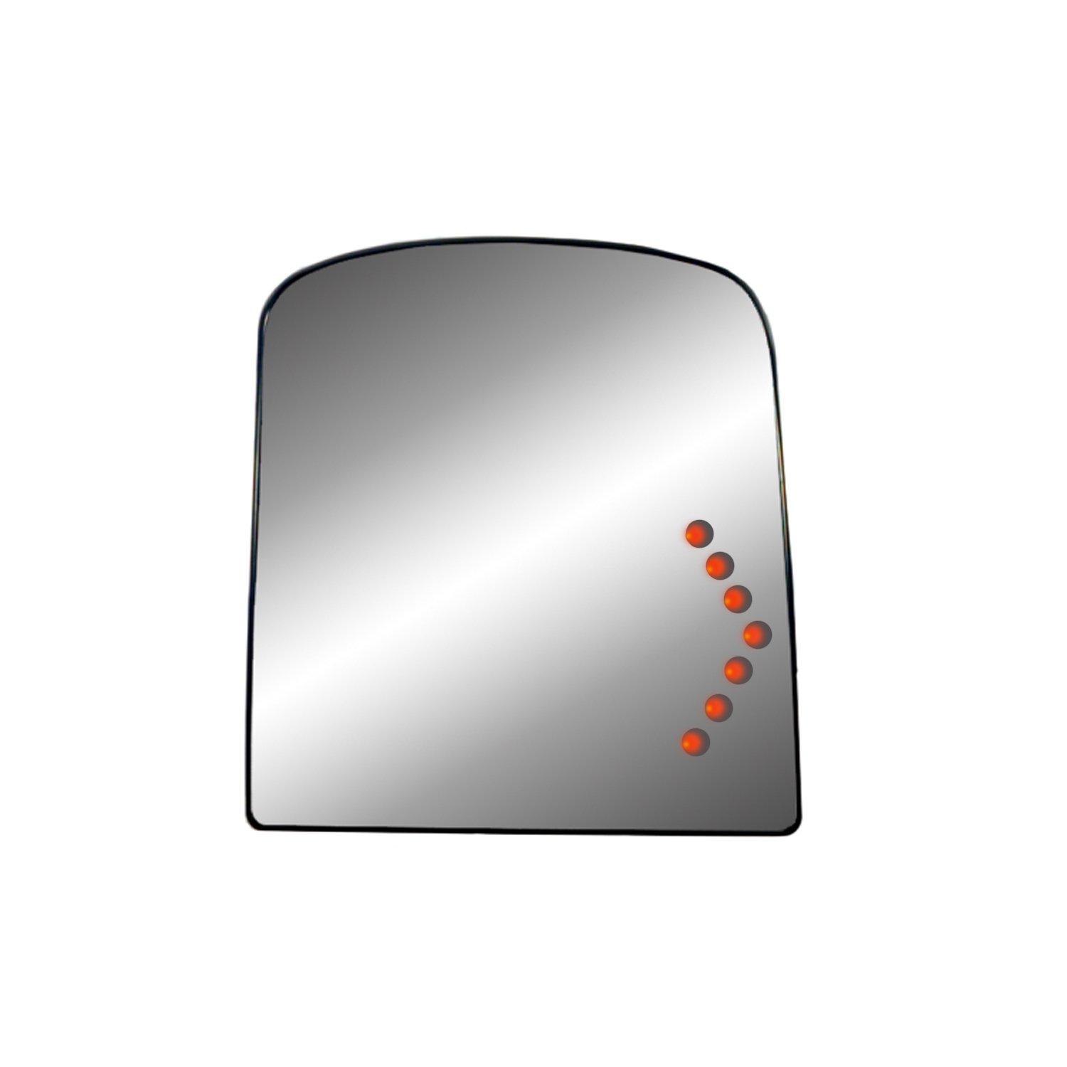 Fit System 44249 GM Towing Mirror Replacement Glass Assembly with LED Turn Signal