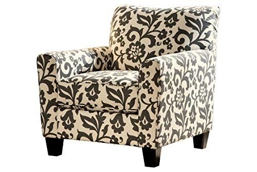 Ashley Furniture Signature Design - Levon Accent Chair - Contemporary - Charcoal Gray