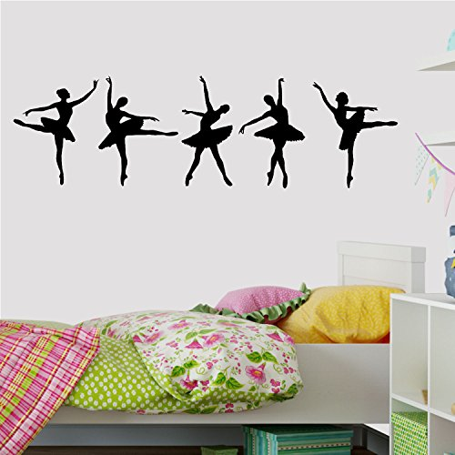 Decal the Walls Ballerina Dancers Wall Decal