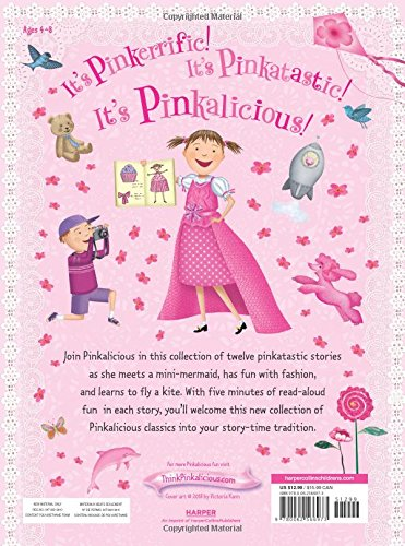 Pinkalicious: 5-Minute Pinkalicious Stories: Includes 12 Pinkatastic Stories! by HarperCollins (Image #2)