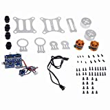 Neewer® 2-Axis Brushless Gimbal PTZ Camera Mount with Motor and BGC 3.1 2-Axis Controller Kit for Gopro 1/2/3 FPV Aerial Photography Silver
