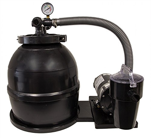 "Rx Clear 14"" Liberty Sand Filter system with 1/2 HP Littl..."
