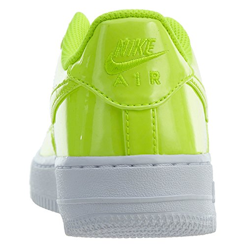 Nike AIR Force 1 LV8 UV (GS) Boys Basketball-Shoes AO2286-700_4Y - Volt/Volt-White-White by Nike (Image #3)