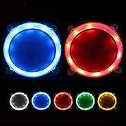 "Cornhole Board Lights Set of 2, Waterproof Ultra Bright LED Corn Hole Lights for Standard 6"" Boards Ring,"