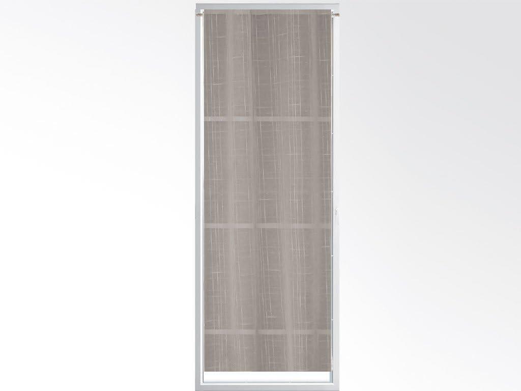 Soleil dOcre 046544 Panama Brise Bise Polyester Ecru 70 x 200 cm