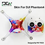 XSD MOEDL PVC DJI Phantom 4 accessories Skin Decal Sticker Quadcopter professionalphantom4 Waterproof 3M Quadcopter Drone parts PGY-P4S-D5
