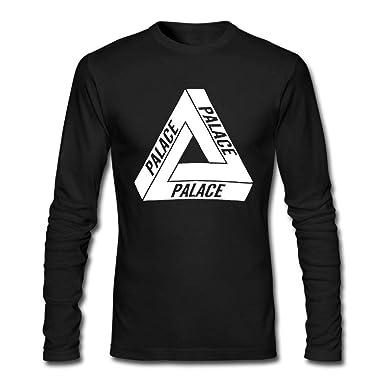 a392f84e820d WELLSBWSDWA GODWARDWELL Hip Hop Palace Skateboard Sport Long Sleeve T Shirts  for Mens Womens Black Small -