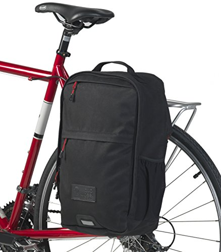 Two Wheel Gear - Pannier Backpack Convertible - 2 in 1 Commuting and Bicycle Touring Bag - Waxed Canvas by Two Wheel Gear