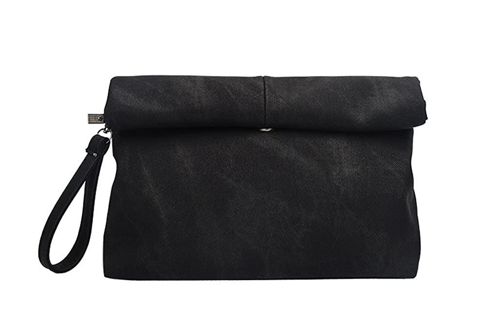 318ec2b470f5 Fashion Shop Jean Casual Clutch Bag Envelope bag For Women (Black) ...   Handbags  Amazon.com