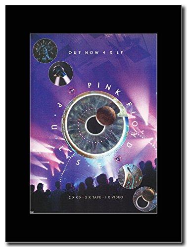 Pink Floyd   Pulse Live   Magazine Promo On A Black Mount
