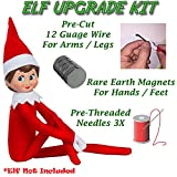 Kyпить ELF FLEX Pro - Elf on the Shelf Upgrade Accessories Kit - Make Your Elf Flexible and Bendable, Perfect for Your Christmas Elf on a Shelf, Shelf Elf Accessories by ELF DOCTOR на Amazon.com