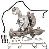 2004 vw jetta tdi turbocharger - Turbo Kit With Turbocharger Gaskets & Oil Line For VW Beetle Golf Jetta TDI BEW - BuyAutoParts 40-80202IL New