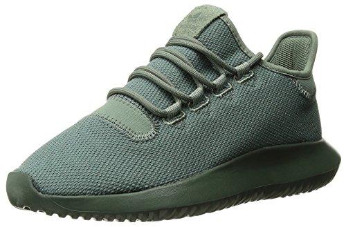 new concept 0f393 352fe adidas Originals Boys  Tubular Shadow J Running Shoe, Trace Green Tactile  Yellow,