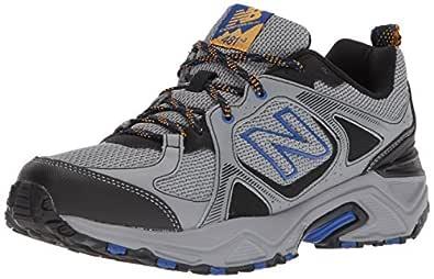 New Balance Men's 481V3 Cushioning Trail Running Shoe, Steel, 9 4E US