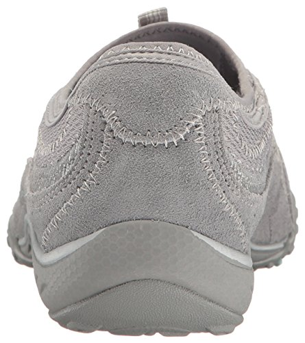 Taken Gris Point Femme Easy Skechers Baskets Breathe n678Awtqtx