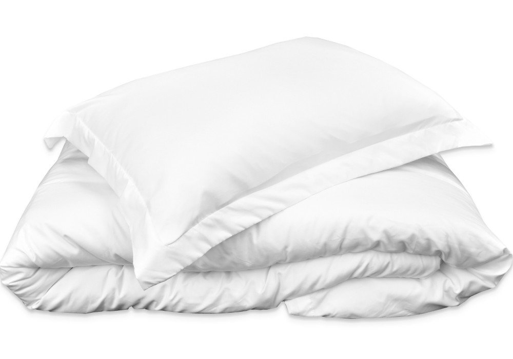 Mezzati Luxury Duvet Cover 3 piece Set – Soft and Comfortable 1800 Prestige Collection – Brushed Microfiber Bedding (White, Queen Size)