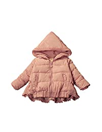 SIN.SE Baby Girls Coat Winter Warm Outerwear