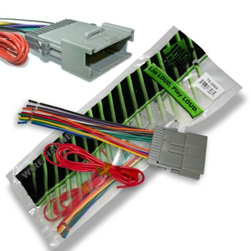 IMC Audio Gm Vehicle Wire Harness 70-2003 Gwh-416 Gm-03b on rca wire, ice wire, apc wire,