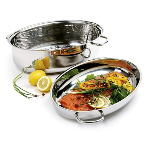 Norpro KRONA Stainless Steel 12 Quart Multi Roaster