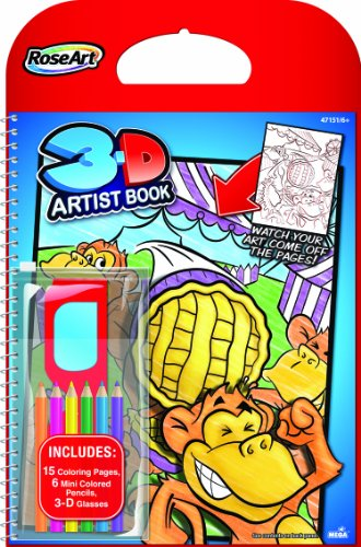 RoseArt Artist Inches Pencils Glasses product image