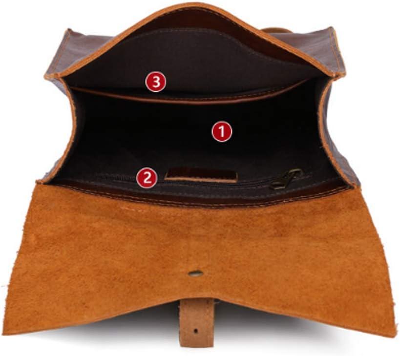 Color : Light Brown, Size : 2226.59cm HWX Daypack,Fashion Shoulder Bag Rucksack Women Leather Ladies Shopping Backpack Travel Bag