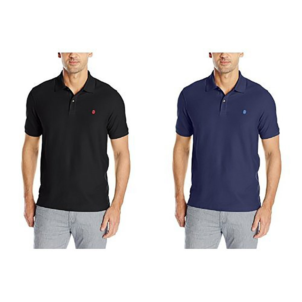Izod Mens Slim Fit Advantage Performance Solid Polo Shirt At Amazon
